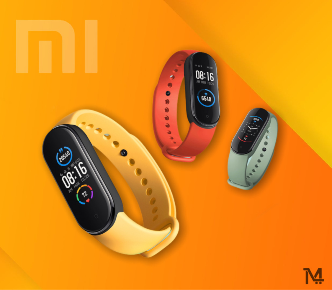 Buy Mi Smart Band 5 at Low Price in Doha Qatar - Free Delivery to Doha Qatar - Large 1.1? dynamic color-display Everything on one screen.Approximately 20% further increase in display area* makes incoming calls, messages and alerts easier to see and ushers in a new era of dynamic dials. Six straps in refreshing colors there's one for you too .which is your favourite? Vibrant yellow or light green? As many as six colors, to freshen up your summer wardrobe. 11 professional sports modes the more you move, the more weight you lose. Supports Yoga, rowing machine, jump rope and more for the first time, accurately monitoring and analysing every move you make. Monitors and analyses your heart rate, pace and calories burned to help you reach your weight loss goals. Fat-burning rowing machine mode. Train 80% of your muscle groups at once. Want to burn body fat fast? This exercise trains almost all of your muscle groups at the same time and accurately records drive time, recovery time and strokes per minute, helping to burn fat fast. Indoor cycling mode High intensity fat burning and perspiration. A fun yet powerful tool in aerobic exercise that works up a sweat with its changing intensity patterns, helping you to strengthen your lower limbs and shape your legs at the same time. 24-hour smart heart rate monitoring Notice anything out of the ordinary. Comprehensive upgrades to algorithms and hardware* have improved monitoring accuracy by up to 50% for forms of exercise with irregular movements such as cross country running, climbing, hiking and so on. Comes vibrating reminders when your heart rate is unusually high. 24-hour sleep monitoring It's easy to get a good night's sleep Upgrades to sleep analysis technology have boosted accuracy by another 40%*, allowing for professional interpretation of your sleeping patterns, And offers scientific advice to help you quickly improve sleep issues such as insomnia. Personal activity intelligence. The personal vitality index is calculated