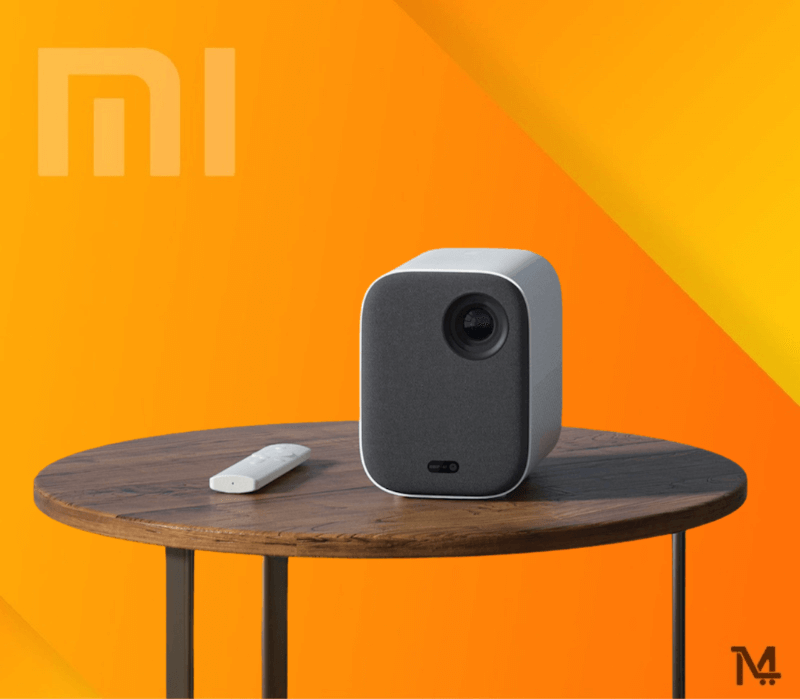 Buy Mi Smart Projector Mini at Low Price in Doha Qatar - Free Delivery to Doha Qatar - HDR10 high dynamic range video decoding improves contrast, renders details more richly, and presents objects more realistically, for a multi-layered visual experience.Mi Smart Compact Projector supports 1920x1080 full HD resolution and is upward compatible with 4K resolution playing.With the new generation DMD chips by Texas Instruments, millions of DMD reflective lenses are able to flip independently at a frequency of 166,600 times per second.Rays of different colors then converge on the lens to make a clear, cinema-like image.