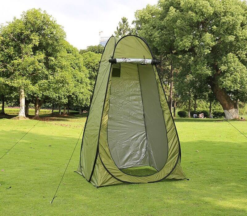Buy Portable Shower Toilet Pop Up Changing Room Camping Dressing Tent in low price in Qatar