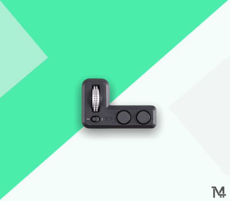 Buy DJI Osmo Pocket Controller Wheel at Low Price in Doha Qatar - Free Delivery to Doha Qatar - DJI Osmo Pocket Controller Wheel attaches right below the LCD of the Osmo Pocket Gimbal, facing the user, and provides a dial for precise pan and tilt control. The dial is comfortably accessible by the thumb. A selector switch next to the dial allows you to select whether the dial should control pan or tilt motion. The controller also features a button for changing shooting modes and another button for re-centering the gimbal.